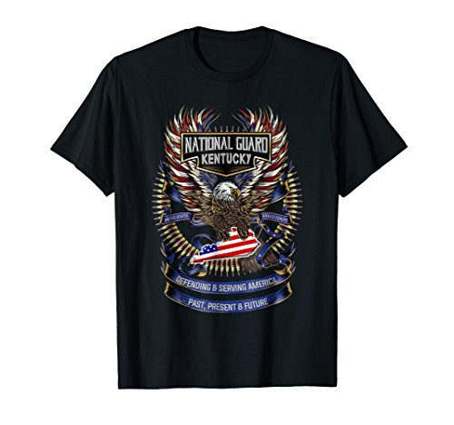 National Guard Kentucky Patriotic Armed Forces T-Shirt - Kentucky National Guard