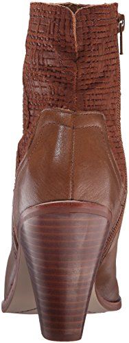 Bootie Ankle Tobacco Tumbled Harvest Corso Como Leather Woven Womens wCaPztpq