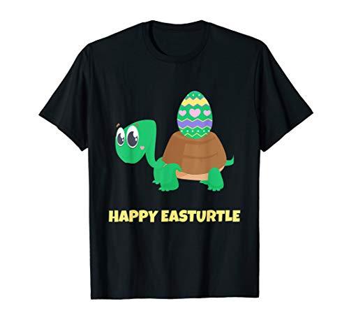 (Happy Easter Turtle T Shirt Funny Cute Tortoise Costume Kids)