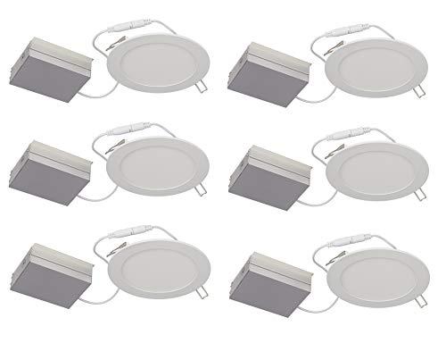 Lightolier Recessed Lighting - Lightolier (Pack of 6) Flat Downlight LED, 6