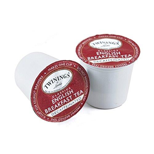 Twinings English Breakfast Decaf Tea, Keurig K-Cups, 48 Count