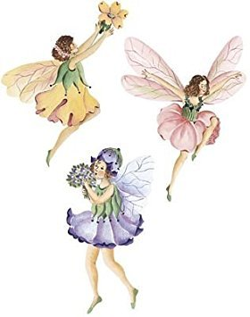 Wallies Wallpaper Cutouts 25/Pkg-Flower Fairies 6