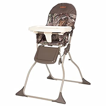 Amazon.com: Cosco Silla alta simple plegable., Anaranjado: Baby