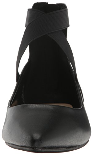 West Ballet Leather Flat Nine Oblivion Women's Black RwT1xdqW