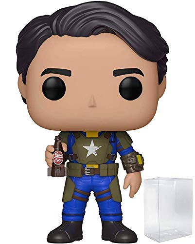 Funko Pop! Games: Fallout - Vault Dweller Male Vinyl Figure (Includes Pop Box Protector Case)