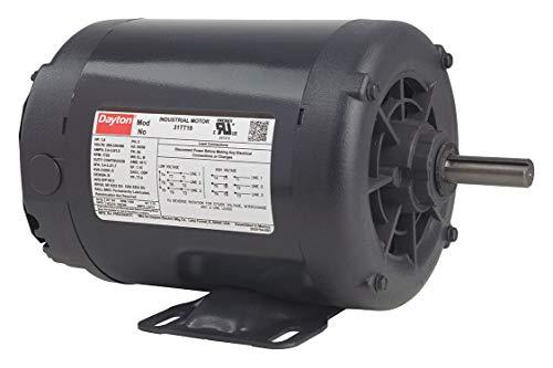 Motor Industrial Dayton - DAYTON 31TT08/P56AF89A11 1/2HP INDUSTRIAL GENERAL PURPOSE MOTOR 208-230-460/60-50/3 RPM:1725/1-SPEED