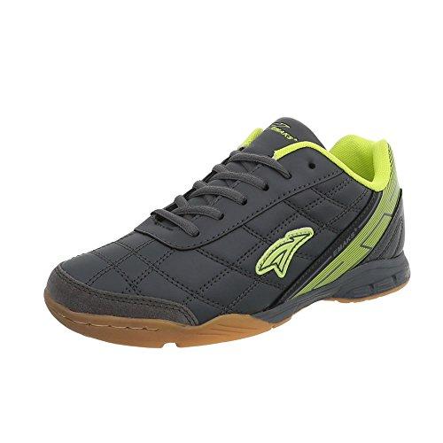 Grau Unisex Grün Freizeitschuhe S1997C Herrenschuhe Top Ital Sportschuhe Design Low Sneakers Damenschuhe xzwFtZv