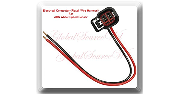 Right Fits:GM Electrical Connector of ABS Wheel Speed Sensor ALS483 Front Left