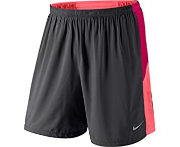80b8d8d7bf Nike Pursuit Men's Shorts 2 in 1, Men, grey, Large: Amazon.co.uk ...