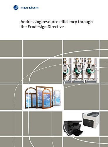 - Addressing resource efficiency through the Ecodesign Directive: A review of opportunities and barriers (TemaNord Book 511)
