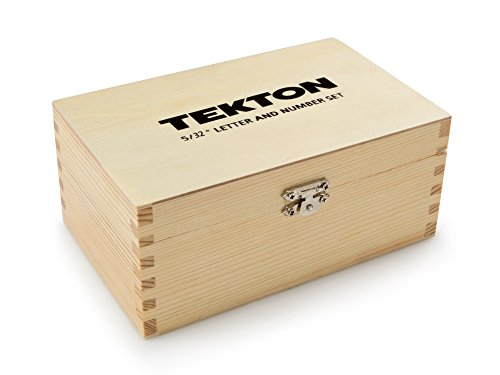 TEKTON 6610 5/32-Inch Letter and Number Stamp Set with TEKTON 6607 5/32-Inch Punctuation Stamp Set by TEKTON (Image #11)