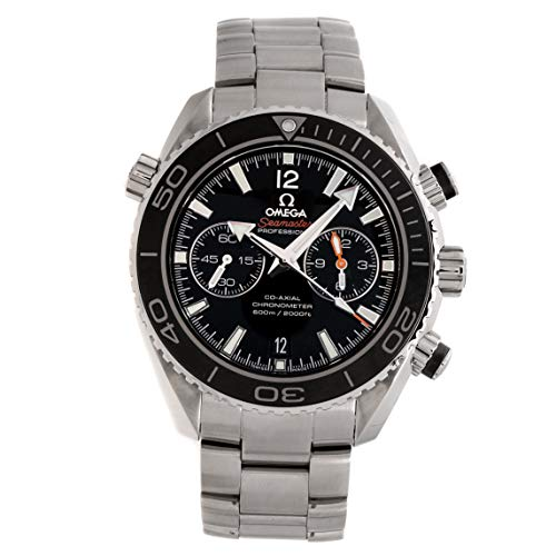 Omega Seamaster Planet Ocean 600M Chronograph Stainless Steel Auto 45.5mm Mens Watch Bracelet 232.30.46.51.01.001 (Certified Pre-Owned)