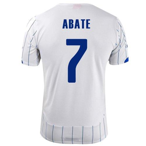 ラベ意気込みエンドテーブルPUMA ABATE #7 ITALY AWAY JERSEY WORLD CUP 2014/サッカーユニフォーム イタリア代表 レプリカ?アウェイ用 ワールドカップ2014 背番号7 アバーテ