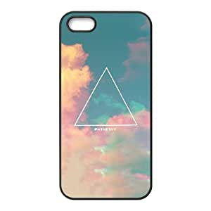 Good Quality Phone Case Designed With Triangle Pattern For iPhone 5,5S
