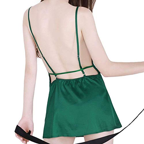 Notte Pigiama Da Bobo Verde Maniche Abito Lace Unique Donna Senza Stlie Vestito 88 Colletto Sera Slim O6Zq6wXR