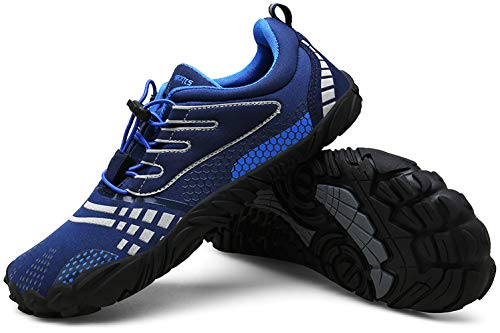 (Zcoli Mens Womens Barefoot Running Shoes for Outdoor Trail Fitness Athletic)