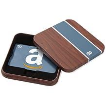 Amazon.ca $50 Gift Card in a Brown & Blue Tin (Classic Blue Card Design)