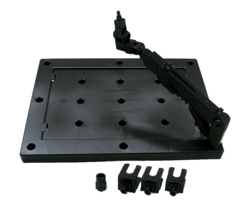 Bandai Hobby 1/144 Black Display Stand Action Base 3 (Box/10) Action Figure
