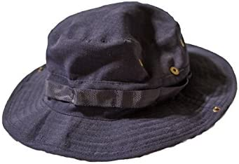 23a5cad5123d23 Navy Blue Boonie Hat - Great Hat for Sun Protection While Fishing, Hiking,  Hunting