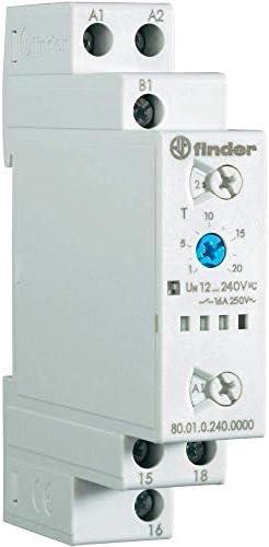 Finder serie 80 - Temporizador modular multifunción ai-di-sw-be-ce-de: Amazon.es: Bricolaje y herramientas