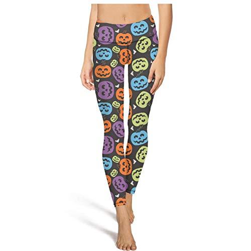 Halloween Pumpkin Faces Yoga Pants Gym Leggings Leggins -