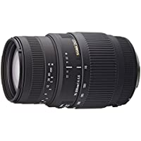 Sigma 70-300mm f/4-5.6 DG Macro Telephoto Zoom Lens for Canon SLR Cameras - International Version (No Warranty)