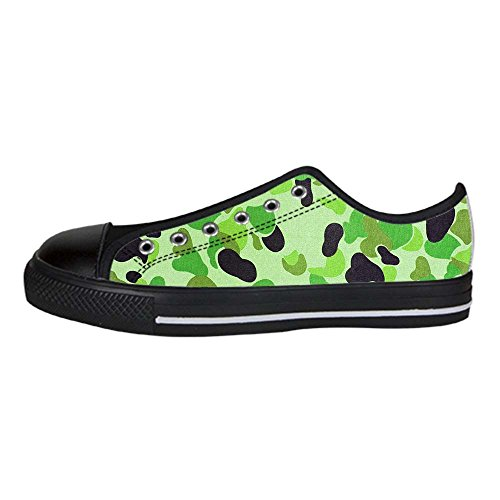 Dalliy tarnung Mens Canvas shoes Schuhe Lace-up High-top Sneakers Segeltuchschuhe Leinwand-Schuh-Turnschuhe B
