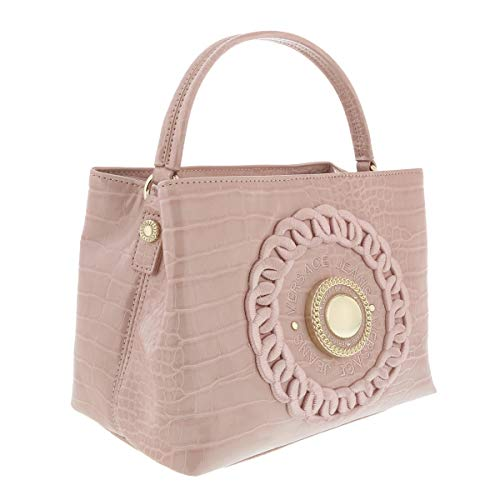 Versace Pink Small Hobo Bag-EE1VTBBR4 E400 for Womens