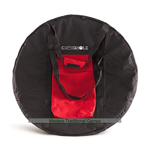 Masters Traditional Games Bag for Round Crokinole Board