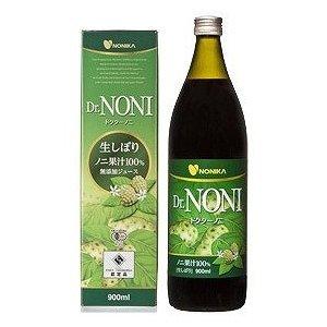 【12本セット】ドクターノニ 生しぼり ノニ果汁100%無添加ジュース 900ml B0071JF5CG