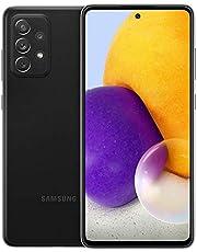 Samsung Galaxy A72 (SM-A725M/DS) Dual SIM 128GB 6.7 pulgadas, GSM desbloqueado de fábrica, versión internacional, color negro