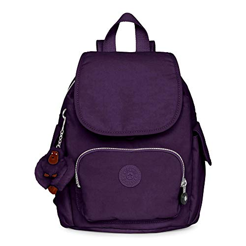 Pack Backpack Purple Extra Deep Small Size Women's Kipling One City wEzUxxXqt
