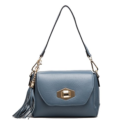 tubedi-shb420010c2-genuine-leather-korean-style-womens-handbagsquare-cross-section-fringed-bag