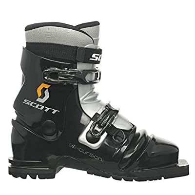 SCOTT Excursion Telemark Boot-Black/Silver-28.5