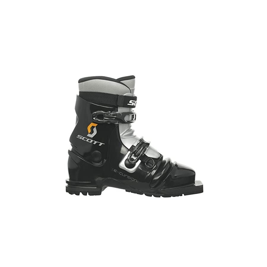 SCOTT Excursion Telemark Boot Black/Silver 28.5