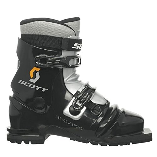 SCOTT Excursion Telemark Boot-Black/Silver-26, 232079-26 by SCOTT