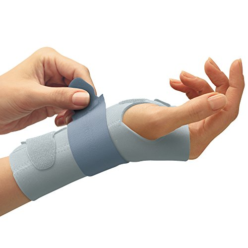 FUTURO Slim Silhouette Wrist Support, Right Hand, - Hand Woman Silhouette