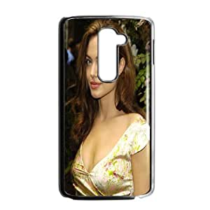 Fashionable Creative Angelina Jolie Cover case For LG G2 FK6A92094