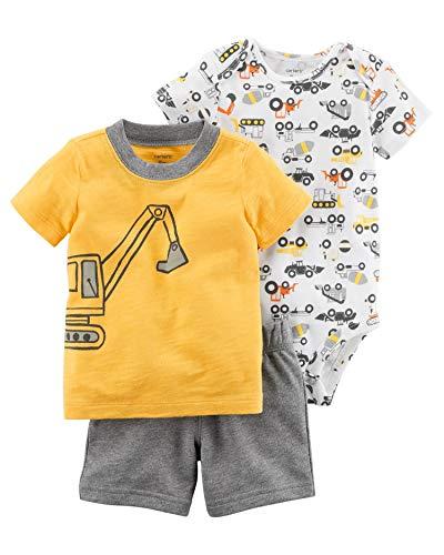 Carter's Baby Boys' 3 Piece Little Short Set 9 Months