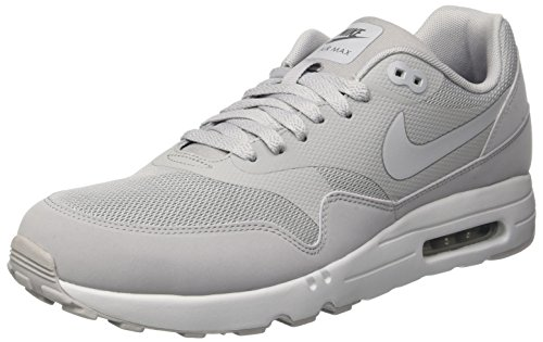 Nike Men's Air Max 1 Ultra 2.0 Wolf Grey 875679-001 (Size: 9) (Mens Nike Air Max Ultra 1)