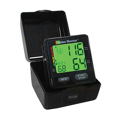 Color Doctor Platinum Edition Blood Pressure Monitor - FDA Approved - by BulbHead by Bulbhead