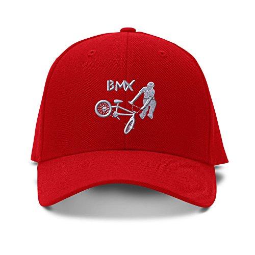 BMX Sport Embroidery Embroidered Kid Children Size Adjustable Cap Hat - Bmx Hats