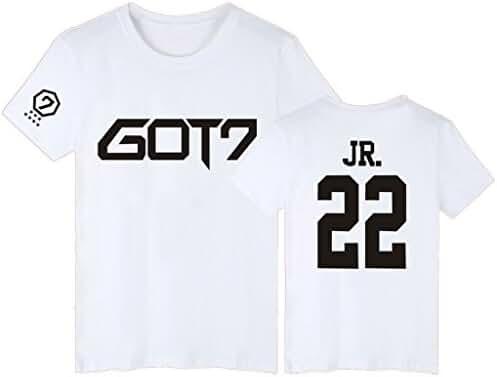 GOT7 T-Shirt Bambam Mark Jackson Youngjae Tee Shirt