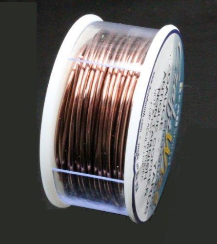 Beadsmith Craft Wire 20 Gauge Antique Copper Round Wire 10 Yards Bead Copper Wire