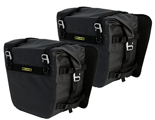 Nelson-Rigg SE-3050-BLK Black Sierra Dry Saddlebag Set