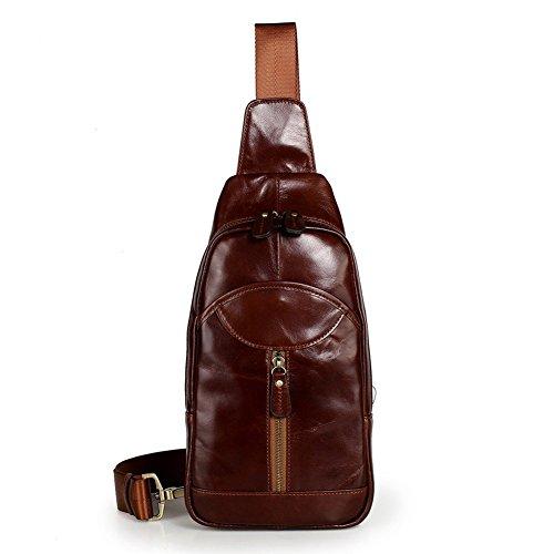 Jiame Messenger Sling Crossbody Bag Backpack Leather Shou...