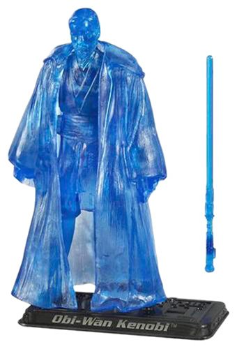 Star Wars,The Saga Collection 2006 Series, Holographic Obi-Wan Kenobi Action Figure #63, 3.75 Inches