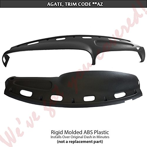 DashSkin Molded Dash Cover Compatible with 98-01 Dodge Ram in ()