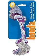 Petmate 50770 Booda Two Knot Rope Bone, Multicolored, X-Small