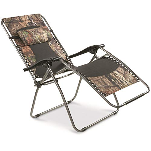 Guide Gear Oversized Zero-Gravity Chair, 500 lb. Capacity, Mossy Oak Break-Up Country